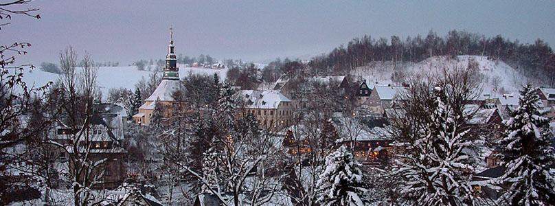 Kurort Seiffen im Winter